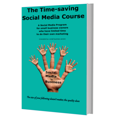 Time-saving social media course